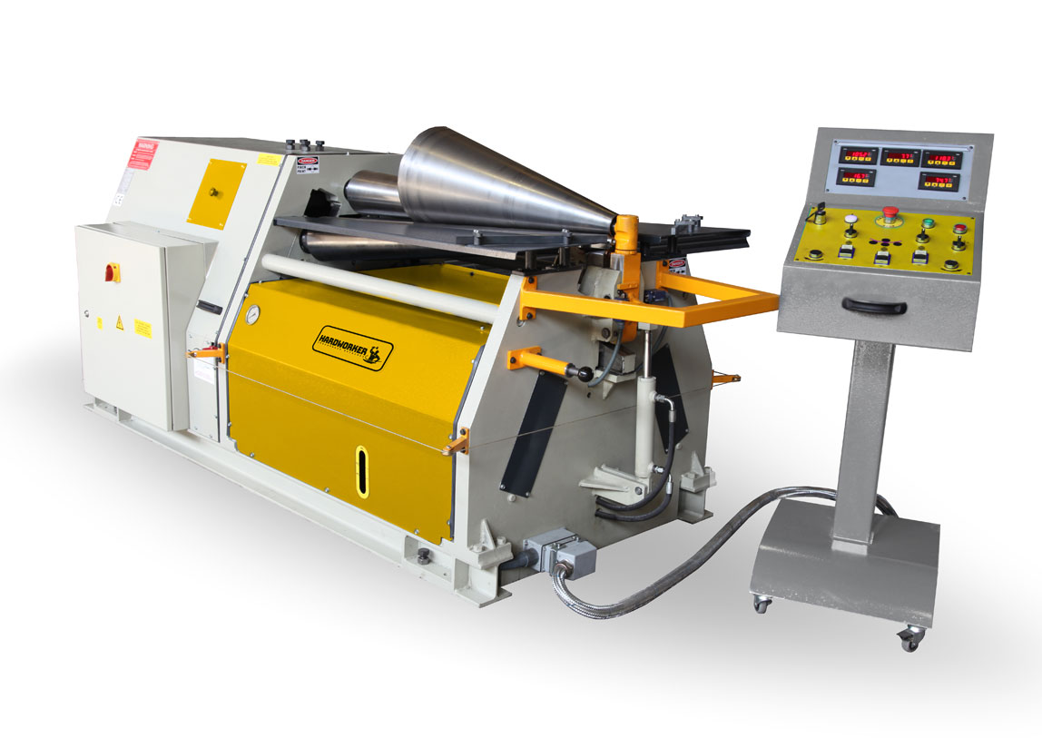 4R CPR 4 Rolls Conical Plate Roll Machine