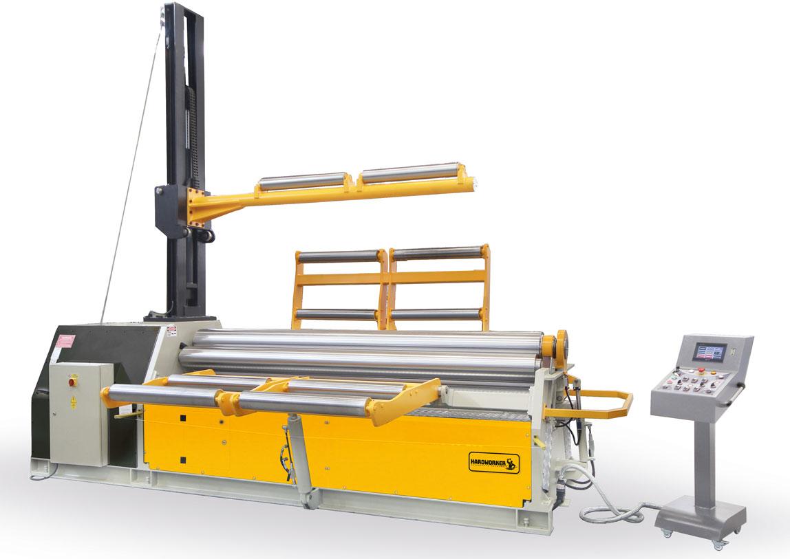 HD 4R HPR 4 Rolls Hydraulic Heavy Duty Plate Roll Machine